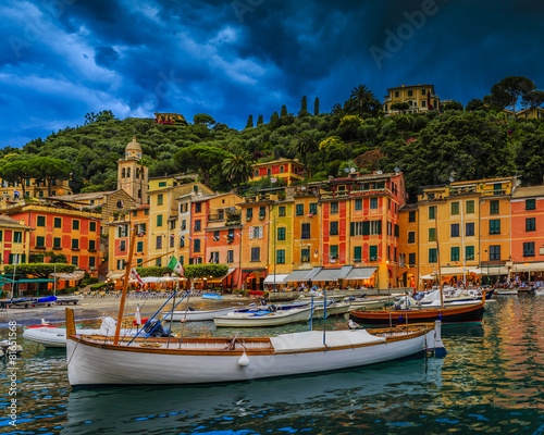 Canvas Prints Portofino, Italy - panorama