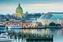 Annapolis, Maryland, USA On The Chesapeake