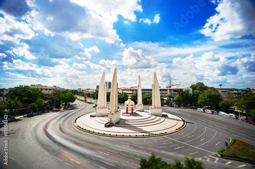Canvas Print The Democracy Monument in bangkok , THAILAND