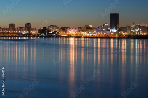 Fototapeta city of Krasnoyarsk obraz