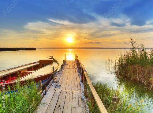 Foto  tiempo libre en el lago