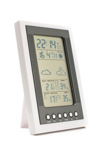Weather Monitoring Equipment Isolated