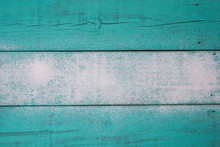 Blank Teal Blue Sandy Wood Beach Sign