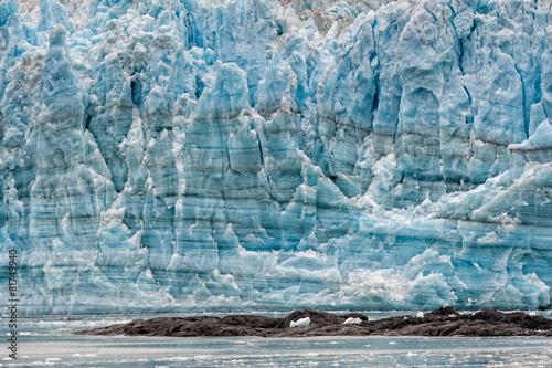 Printed kitchen splashbacks Glaciers Hubbard Glacier while melting in Alaska
