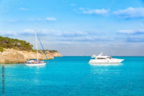Foto op Plexiglas Caraïben Majorca sAmarador beach Amarador in Mondrago