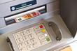 Geldautomat Tastenfeld