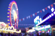 canvas print picture - Volksfest