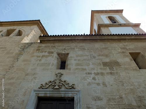 Fotografie, Obraz  santuario de la virgen del mar en almeria