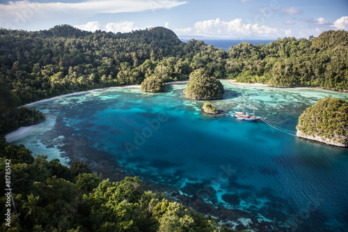 Fotografía  Tropical Lagoon