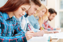 Students At Classes
