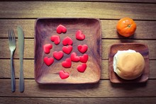 Healthy Wooden Place Setting