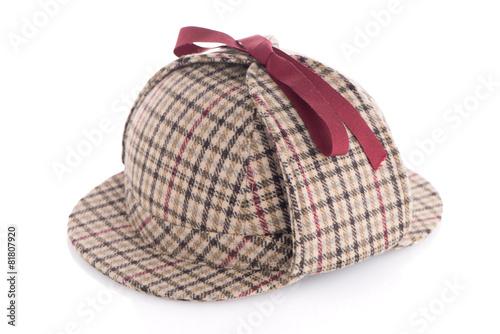 Photo British Deerhunter or Sherlock Holmes cap