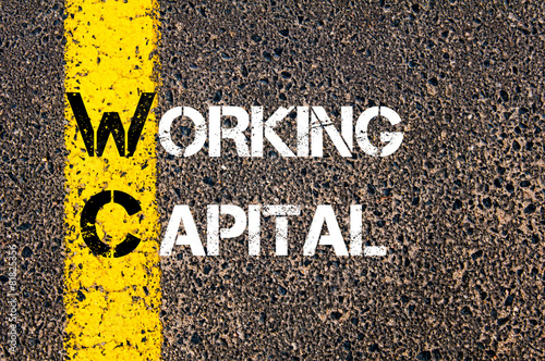 Foto  Business Acronym WC as Working Capital