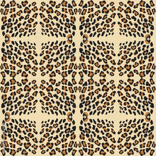 Staande foto Kunstmatig leopard print pattern skin.
