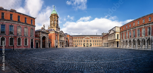 Dublin Castle Courtyard Wallpaper Mural