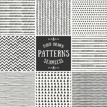 Abstract Seamless Patterns Col...