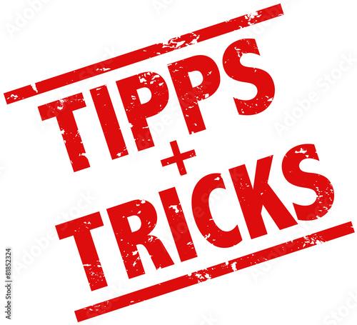 cc49501f47919 Tipps und Tricks Stempel rot – kaufen Sie diese Vektorgrafik und ...