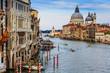 Venice, Italy - Canal Grande with Basilica di Santa Maria della