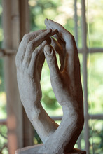 Paris - Museum Rodin. Sculpture Of The Cathedral