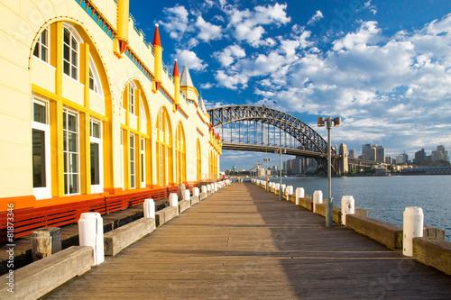 plakat Luna Park w Sydney
