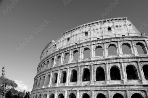 Colosseum in Rome, Italy - 81876796