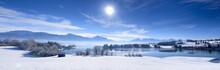 Panorama Winterlandschaft In B...