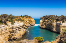 The Loch Ard Gorge At Port Campbell National Park