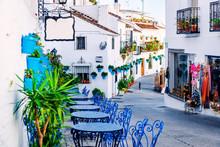 Mijas Street. Charming White V...