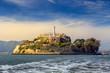 canvas print picture - Alcatraz Island in San Francisco