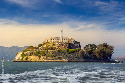 Alcatraz Island in San Francisco Canvas Print