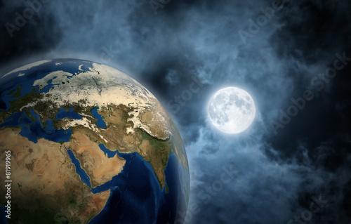 ksiezyc-i-ziemia