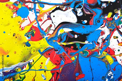 abstrakcyjne żywe malarstwo