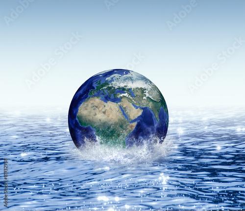 Fototapety, obrazy: Water Planet