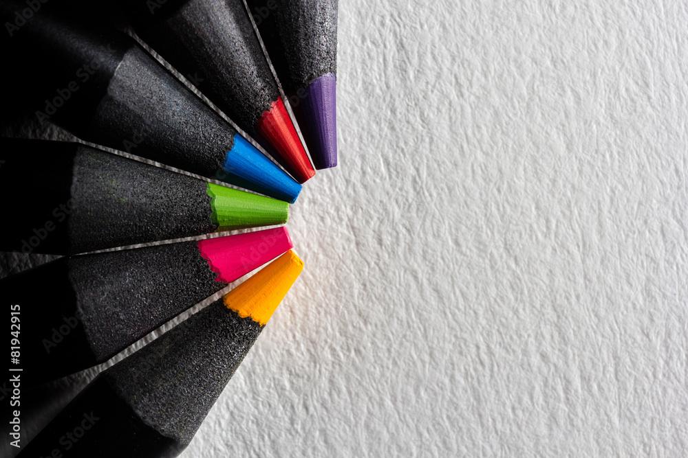 Fototapeta couleur flash