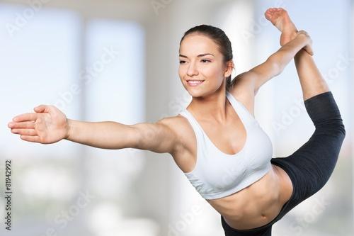 Photo  Yoga. Expert yoga pose
