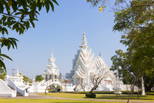Wat Rong Khun, Thailand Famous Temple After Earthquake