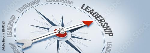 Billede på lærred Leadership