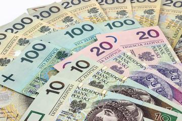 FototapetaPolskie banknoty