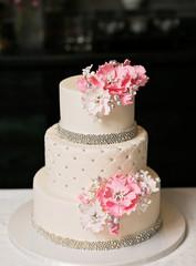 Obraz na Szkle Słodycze Wedding Cake