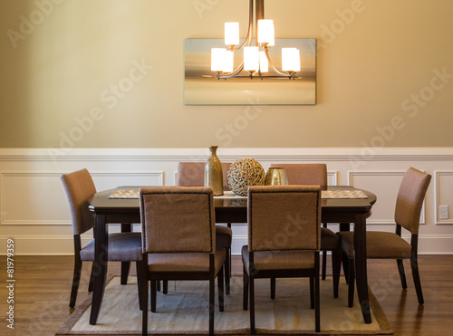 Modern Dining Room Poster