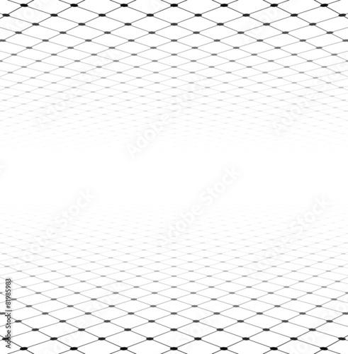 Fotografía  Perspective grid surface.