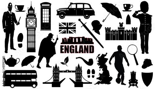 Fotografía  england silhouettes