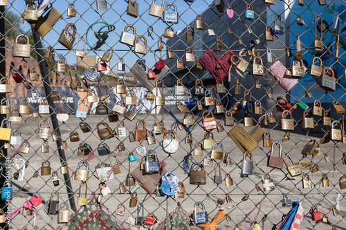 Fotografie, Obraz  Love locks in London