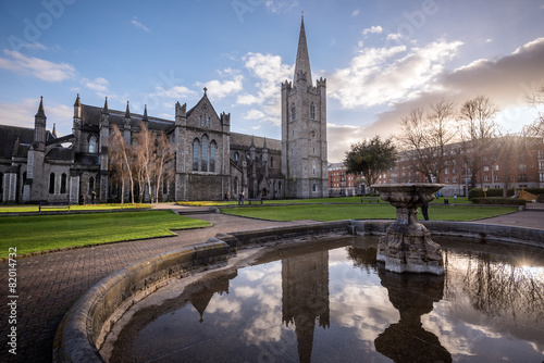 Photo  St Patrick's Church Dublin