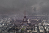 aerial view of eiffel tower - 82017734