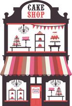 Vintage Victorian Cake Shopfront