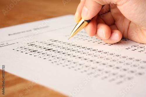 Fotografia  英語の選択問題テスト English Multiple Choice Test