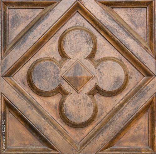 Fotografia, Obraz  Scultura in legno