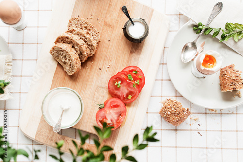Fototapeta śniadanie obraz