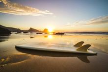 Surfboard Sunset